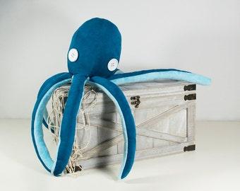 Robin Egg - Octopus Plush