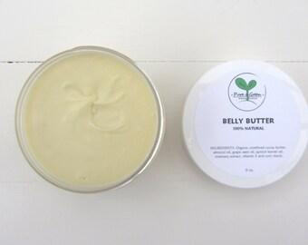 Belly Butter, 100% Natural