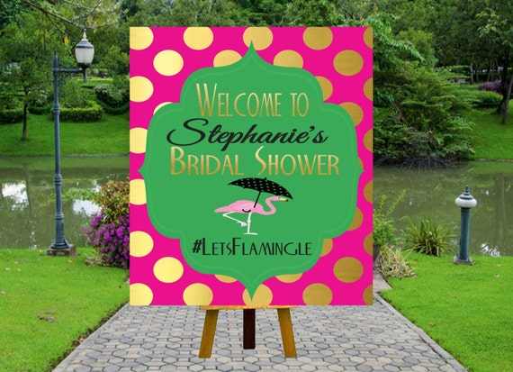 PRINTABLE Welcome Bridal Shower Poster, Welcome Poster, Rustic Wedding Printable, Black and ...