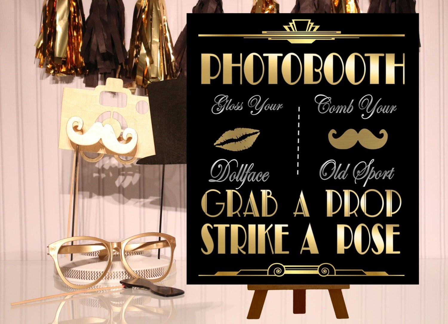Pics for roaring 20s prom theme for Accessoire deco