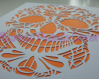 paper cut art etsy. Black Bedroom Furniture Sets. Home Design Ideas