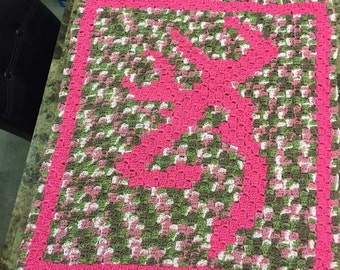 Browning baby blanket