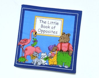 Soft Book - Book of Opposites - Baby Book