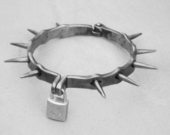 Spiked Slave Collar