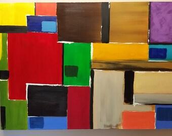 Abstract, modern, fine art, contemporary, oil, canvas, original,