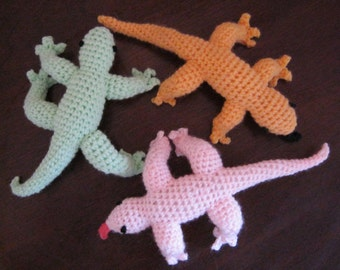 Leftover Lizard Crochet Pattern
