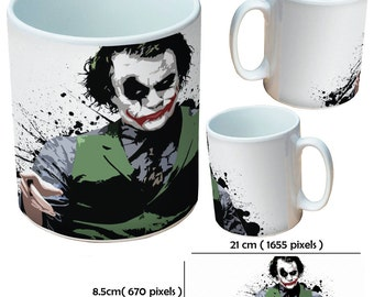 Custom Joker picture mugs cup as a special personalised gift for all occasions