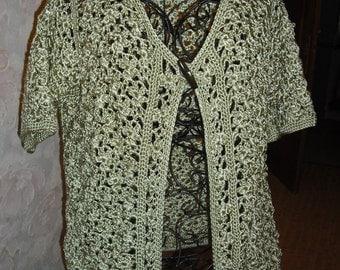 very nice crochet jacket in TThe maiin