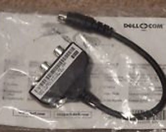 Dell 44CTV S-Video To Rca Audio Video Spdif Cables  ( factory packaged cables )