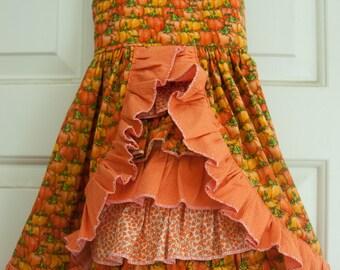 Sun dress - Pumpkin festival (2T)