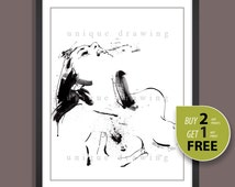 Female nudity drawing, Naked woman painting, Nud print, Nude painting, Nude art, gift for man, Sexual intercourse, Wall deco print, 3226