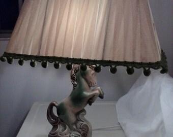 1940's Rearing Horse Lamp