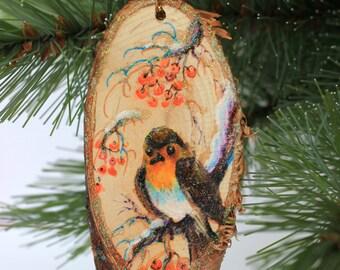 Christmas Tree Ornament Bird