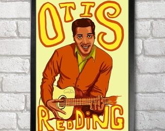 Otis Redding Poster Print A3+ 13 x 19 in - 33 x 48 cm Buy 2 Get 1 Free