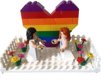 lesbian cake toppers lego harry potter wedding cake topper groom weasley 5497