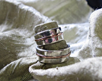 Wedding rings withinscription inside Couple Siver or Gold