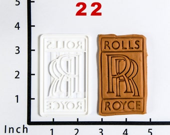 Rolls-Royce Cookie Cutter Rolls-Royce birthday Rolls-Royce party Rolls-Royce Baby Rolls-Royce Fabric Rolls-Royce Shoe Shirt 3D Print 22