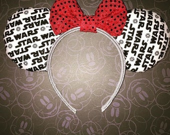 Starwars mouse ears with bow!