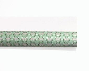 Floral Green Patterned Wrapping Paper