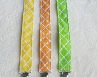 Pacifier clip/ toy holder set of 3