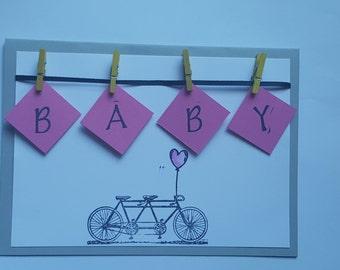 Baby greeting card