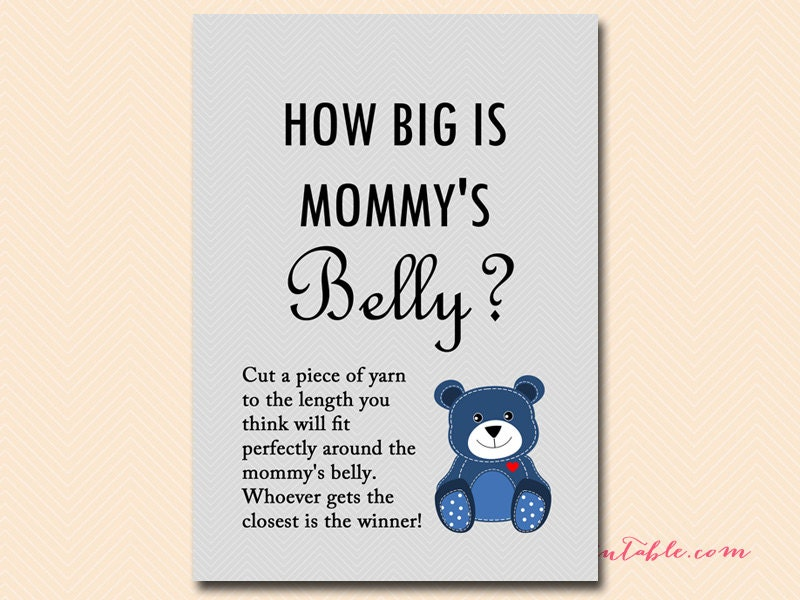 It's just an image of Magic How Big is Mommy's Belly Free Printable