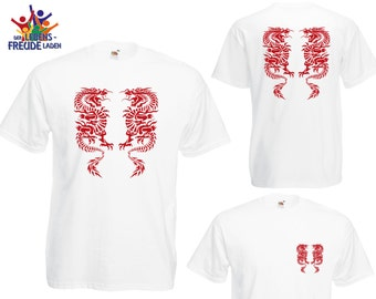 """Dragon - Fruit of the Loom® T-Shirt """"Men Valueweight T"""" / """"Heavy Cotton T""""  in different colors!"""