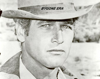 Paul Newman Cowboy Western Hollywood Photo Art Poster Artwork 11x14 or 16x20