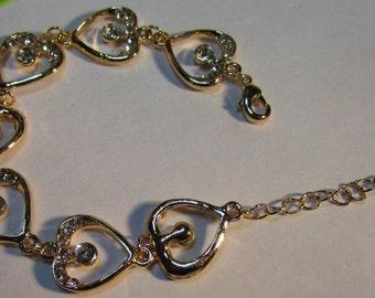 Woman's Heart Bracelet