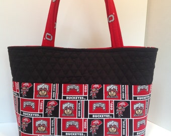 Ohio State Fabric Tote