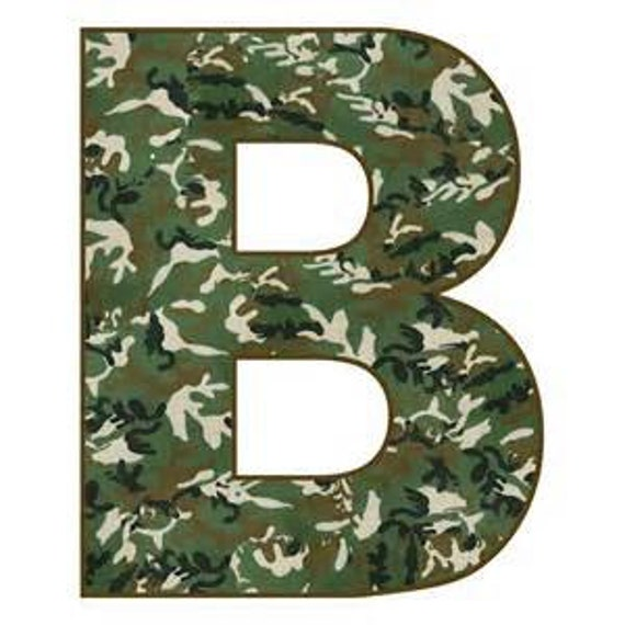 brown camo lettering vinyl choose wording by bigteesprinting With camo vinyl lettering