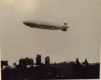 Hindenburg Photo 8 x 10 Glossy Black and White