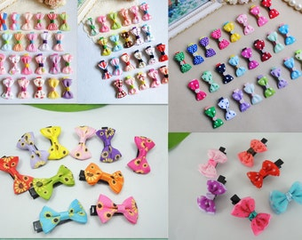 Wholesale 10x Baby Girl Hair Clips Hairpins Mixed Pack C10