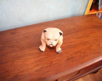 Vintage Chalkware Bulldog