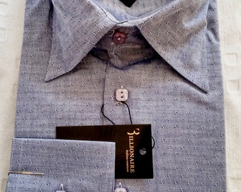 FREE SHIPPING: Billionaire Italian Couture  New Authentic shirt Size 41/16