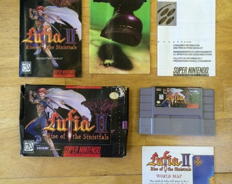 Lufia II Rise of the Sinistrals for Super Nintendo