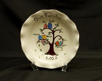 A personalized family tree