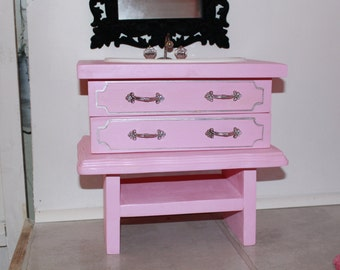 Pink Washer And Dryer Handmade Wooden 18 Inch By Madisdollhouse