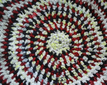 Carpet handmade yarn