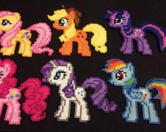 My Little Pony Perlers