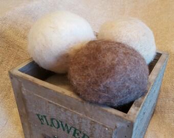 100% All Natural Alpaca Dryer Balls