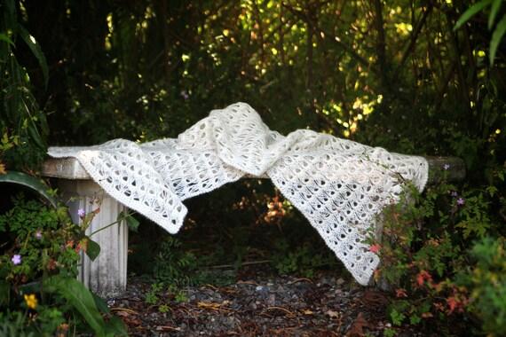 Broomstick Crochet Shawl