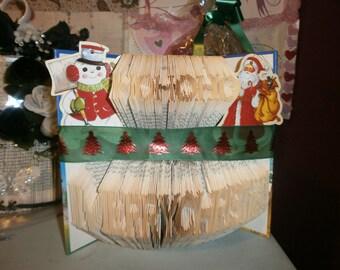 Ho Ho Ho Merry Christmas 22 H 343 F