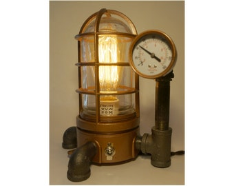 Steampunk Vapor lamp #43