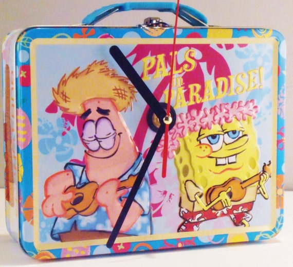 Sponge Bob Lunch Box Clock