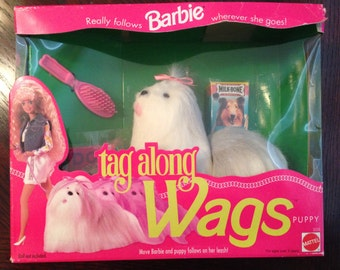 Barbie Tag Along Wags Puppy