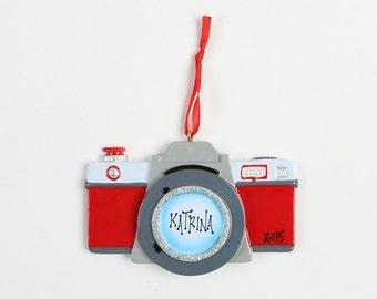 Personalised Camera Christmas Ornament Gift Christmas Tree Decoration photographer