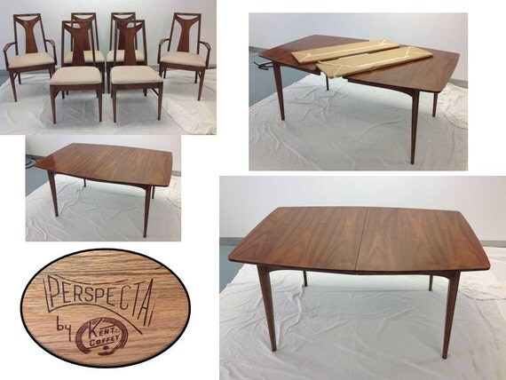 Kent Coffey Perspecta Dining Room Table Set by KruegerHudepohl