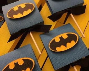 Batman Lollipop sleeves