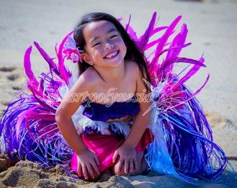 Tahitian dance princess costume